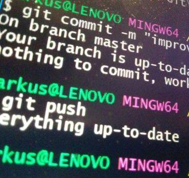 Storing Git commit information into Pandas' DataFrame