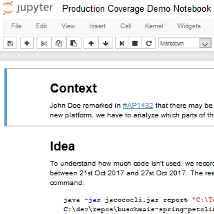 Production Coverage Demo Notebook
