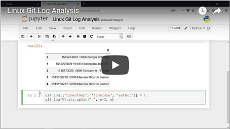 Video: Linux Git Log Analysis