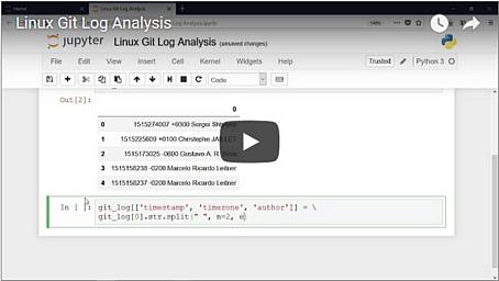Video: Linux Git Log Analysis