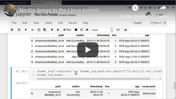 Video: No-Go Areas in the Linux Kernel