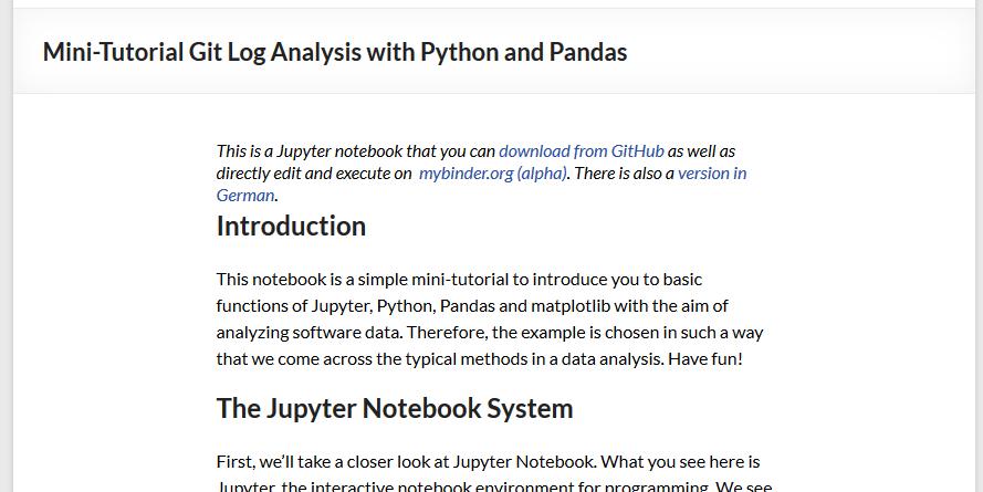 TOP 5 Learning Jupyter – feststelltaste