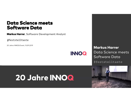 "Vortrag ""Data Science meets Software Data"""